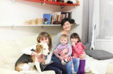 В гостях: Одна собака, трое детей и их родители в Петербурге