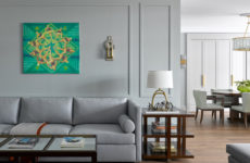 Дом в Подмосковье для ценителей современного искусства