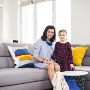 В гостях: Квартира для семьи, где любят посиделки и пироги