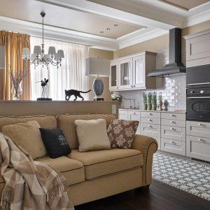 Квартира для родителей с двумя спальнями и сауной