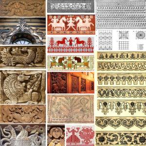 Защитить и украсить: Символика и орнаменты резных наличников