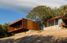 США: Модульный дом на одном из Калифорнийских холмов