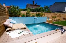 Проект недели: Маленький бассейн в саду под Тулузой