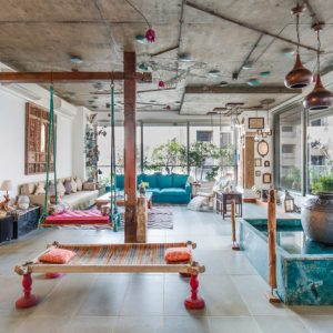 Индия: Квартира-оазис для звезды Болливуда