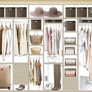 Наполнение шкафа: Как рассчитать, чтобы все вещи поместились
