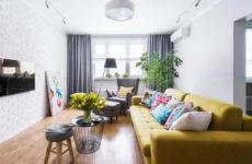 Квартира в Химках с яркими акцентами