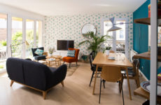 До и после: Новая жизнь квартиры под Парижем 10 лет спустя