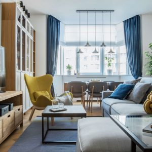 Украина: Апартаменты в Киеве со скандинавскими мотивами