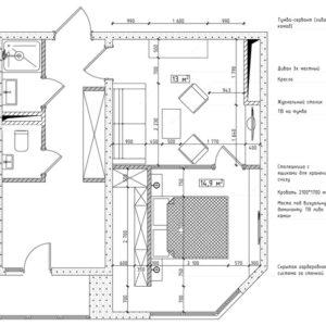 Как правильно: Планировка маленькой спальни 9-10 метров