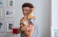 в гостях: Хюгге, кошка по кличке Туве и лаконичные постеры