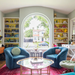 США: Цветной дом в Лос Анджелесе