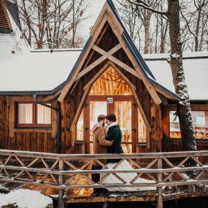 Личный опыт: Свадьба и декор пространства в новогоднем стиле