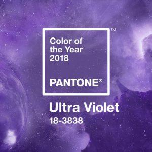 Ультрафиолет — цвет 2018 года по версии Pantone