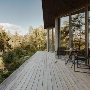 Швеция: Архитектура, которая сливается с ландшафтом