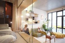 Франция: Квартира на месте многоярусного гаража
