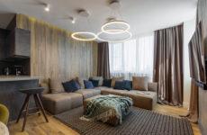 Квартира в Воронеже с окном в пол… в душе