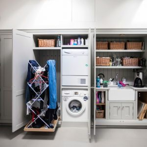Где сушить белье в квартире… красиво