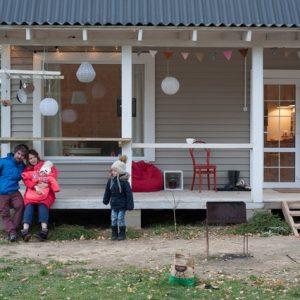 В гостях: Крошечный белый дом под Минском