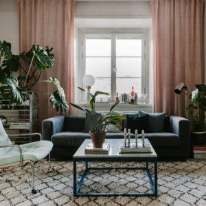 Швеция: Находки со свалки в квартире декоратора