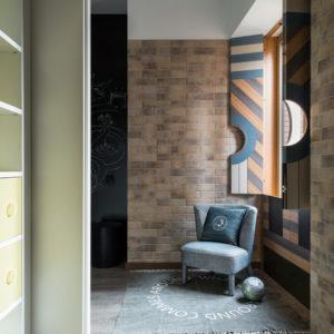 Лофт и современная классика в одной квартире
