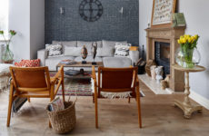 В гостях: Винтажные каре в доме дизайнера на Новой Риге