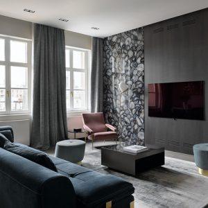 Квартира с агатами на стенах