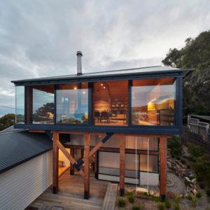 Австралия: Пляжный домик с новой надстройкой