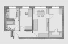 Есть проблема: Трехкомнатная квартира в хрущевке