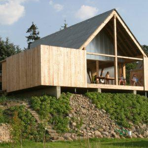 Архитектура: Бюджетный домик под Берлином