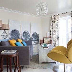 Фотоохота: 31 оригинальная идея для дизайна стен в гостиной