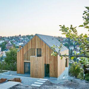 Архитектура: Дом над обрывом в Штутгарте