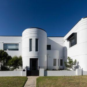 Австралия: Дом эпохи ар деко с изогнутыми деталями