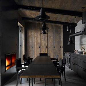 Проект недели: Летняя кухня с камином — в Туле