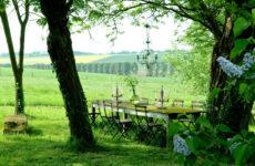 Завтрак на траве: Как организовать столовую посреди сада