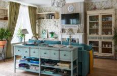 Квартира в стиле прованс для двух хозяек