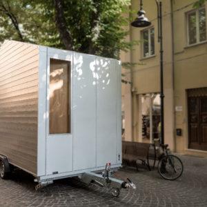 Италия: Маленький дом 9 кв.м — на колесах