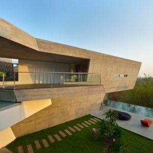 Индия: Дом со входом на крыше