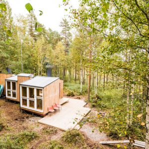 Финляндия: Деревянный мини-дом своими руками