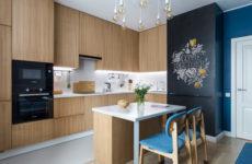 Квартира начинающего архитектора по чужому проекту