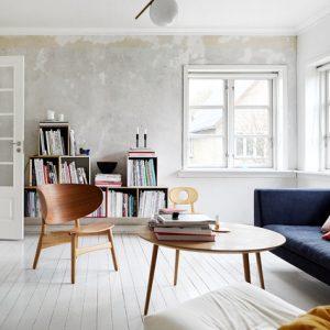 Дания: Дом со стеной, которую перекрашивали 14 раз