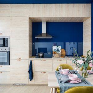 Квартира, вдохновленная Балтийским морем