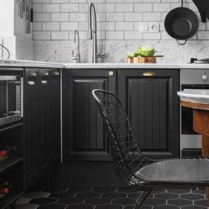 Вопрос: Где поставить микроволновку на кухне