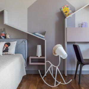 Есть решение: Куда поставить кровать в детской