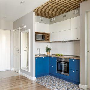 До и после: Маленькая квартира с кухней «в кармане»