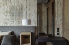 Квартира для ценителей красоты бетона