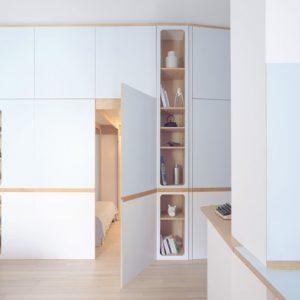 До и после: Студия с двумя спальнями… в шкафу