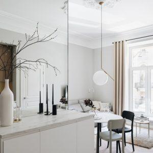 Маленькая квартира в доме архитектора Боссе