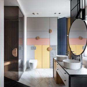 Проект недели: Авангард — в ванной и сауне