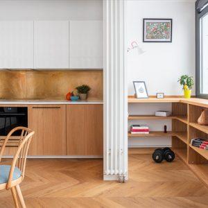Фасады, фартук, пол — как сочетать материалы на кухне