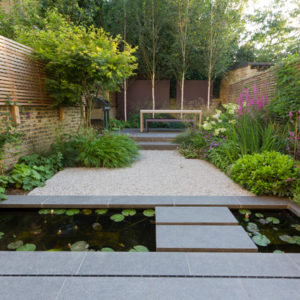 Просто фото: Дорожка по воде в саду — 27 идей